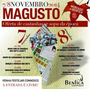 Magusto no Mercado de Benfica