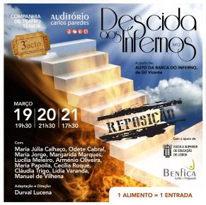 """Companhia de Teatro Sénior """"3ºActo""""- """"Descida aos Infernos"""""""