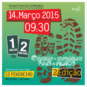 Corrida Aventura Pais e Filhos – 14 de Março 2015