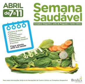 Semana Saudável – 7 a 11 de Abril