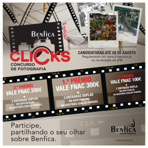 Benfica Clicks| 2.ª Edição – Concurso de Fotografia