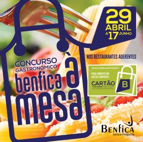 BENFICA À MESA – Concurso Gastronómico