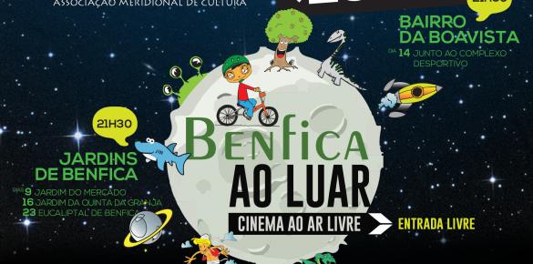 """""""Benfica ao Luar"""" – Cinema ao Ar Livre"""