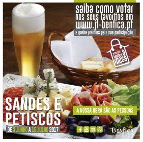 Concurso Gastronómico BENFICA À MESA – SANDES E PETISCOS