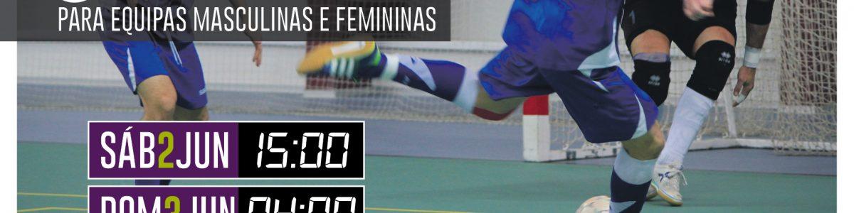 Maratona de Futsal – 2 e 3 junho 2018